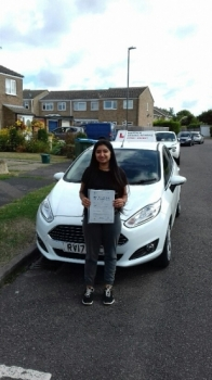 A great pass for Jess with just 4 minors.