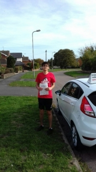 A great first time pass with just 3 faults.