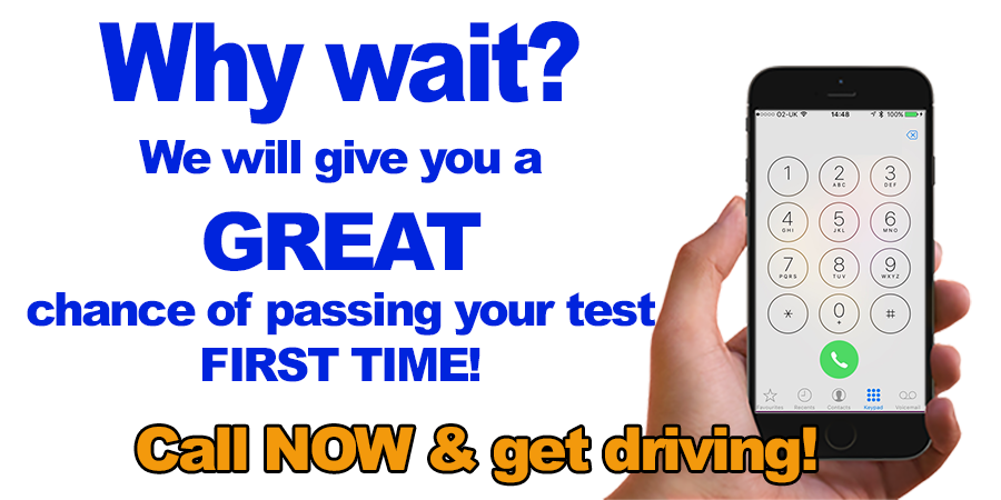 Why Wait Get Driving Now!